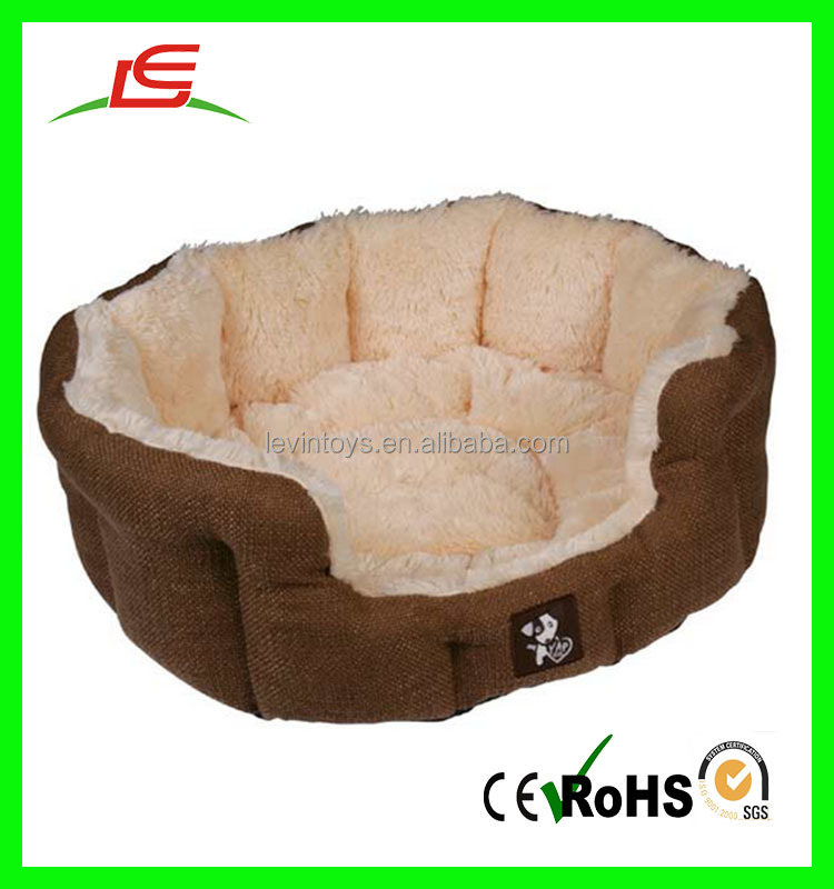 High Quality wholesale super soft stuffed handmade dog bed