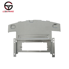 LZGUIYANG GY-HS-0053 Timbratura D'argento Lamiera Zincata di Ricambio Auto Made In China Auto Lettore CD Frontale Enclosure
