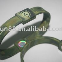 Frequency Ion Energy Silicone Rubber Wristband