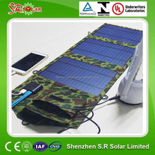 2016 portable charger solar folding solar 10w solar charger bag
