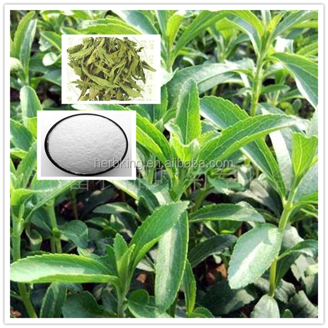 High quality Stevia Leaf Extract powder 98% Reb A &Stevioside/ Stevia Leaf PE/stevia extract