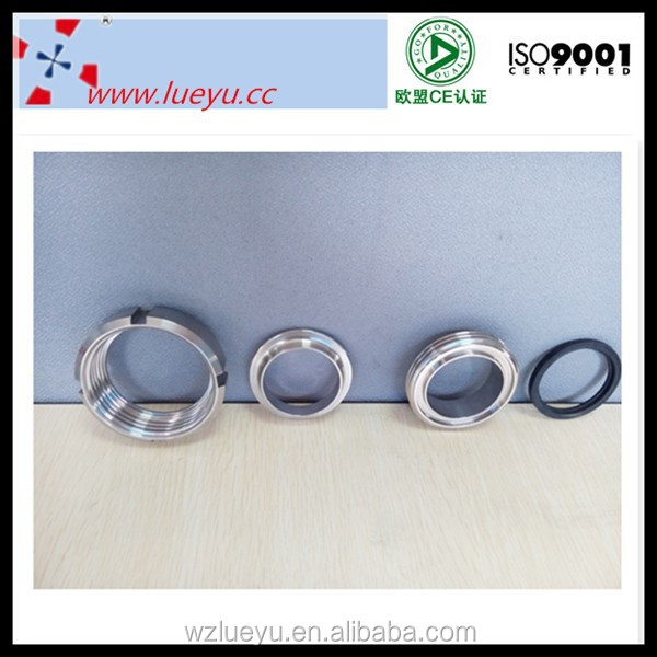 Pipe fittings sanitary clamp ferrule union