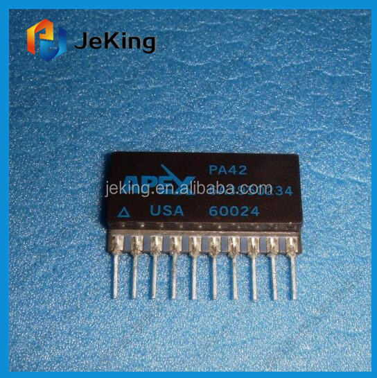 HIGH VOLTAGE POWER OPERATIONAL AMPLIFIERS ZIP-12 PA42