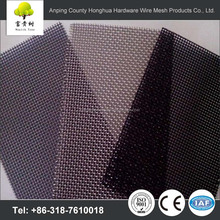 Wholesale high quality anti mosquito pvc coated stainless steel security fiberglass stainless steel safety window screen