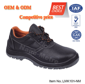 NMSAFETY OEM/ODM split and suede leather PU injection SB safety shoes