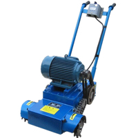 concrete pavement Strong sweeping slag removal machine