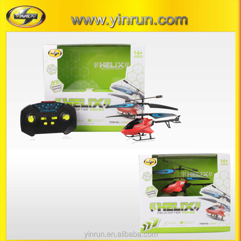 hot sale gift DIY assembly helicopter with gyro