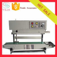 continuous vertical plastic bag sealer for liquid bag/stand-up bag