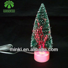 RGB USB plastic tree christmas 2013 new hot items gifts