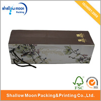 Paper Wine Bag Paper Gift Bag with Foil Hot Stamping Finishing