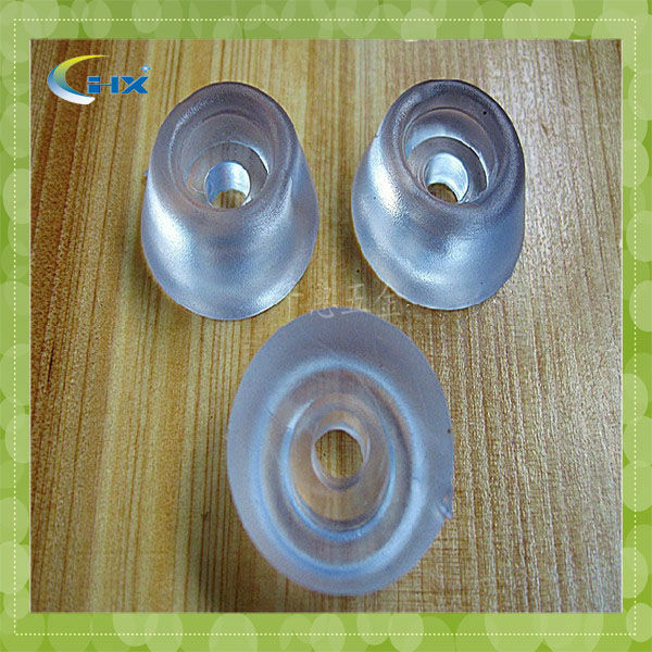 G-Transparent rubber feet for chair