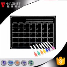 16*12 magnetic calendar month planner printing