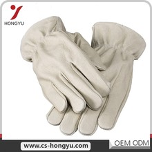 Popular design sheep skin driver industry work long arm welding girls driving leather gloves