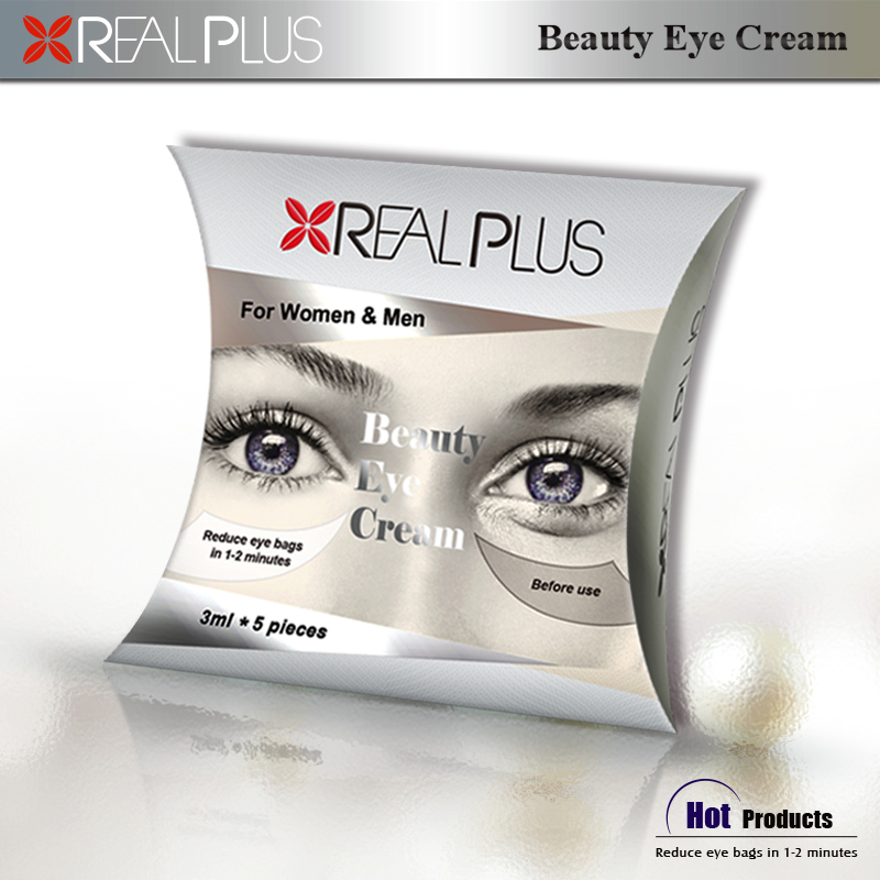 Kunming Real Beauty company looking for investment partner selling instant eye cream for eye bags in one minute