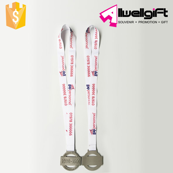 10K Sports Running Medallion 3d custom logo events medal with Ribbon