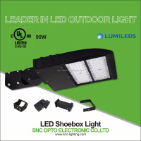 90W Led Shoebox Light Energy Saving