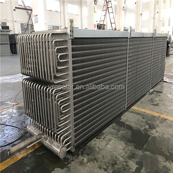 Widely use Freezon storage air cooler evaporator coil for Squid storage