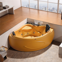 Cheap corner used bathtub and jet whirlpool bathtub