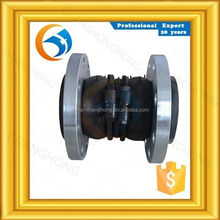 Complete in specifications casting hydraulic double sphere rubber expansion joint price