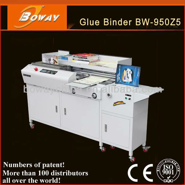 China Manufacturer Factory boway 950 A4 automatic book perfect glue binding machine