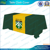 Beautiful polyester table cloth/water &oil proof