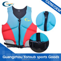 outdoor safety kayak surfing anti-collosion swim vest life vest