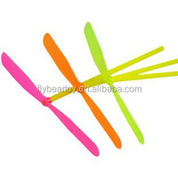 3.6x3.6cm Small Flying propeller dragonfly plastic dragonfly toy