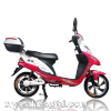 350W two people hub motor bike electric moped scooter for adult