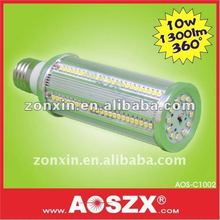 Hot sale! 1120LM high bright 10W B22 12V 24V 220v E27 smd LED Corn light Bulb E40 LED corn bulb Aluminum Alloy +48hrs test