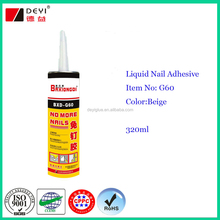 320ml bond nail glue,no more nails, liquid nail adhesive