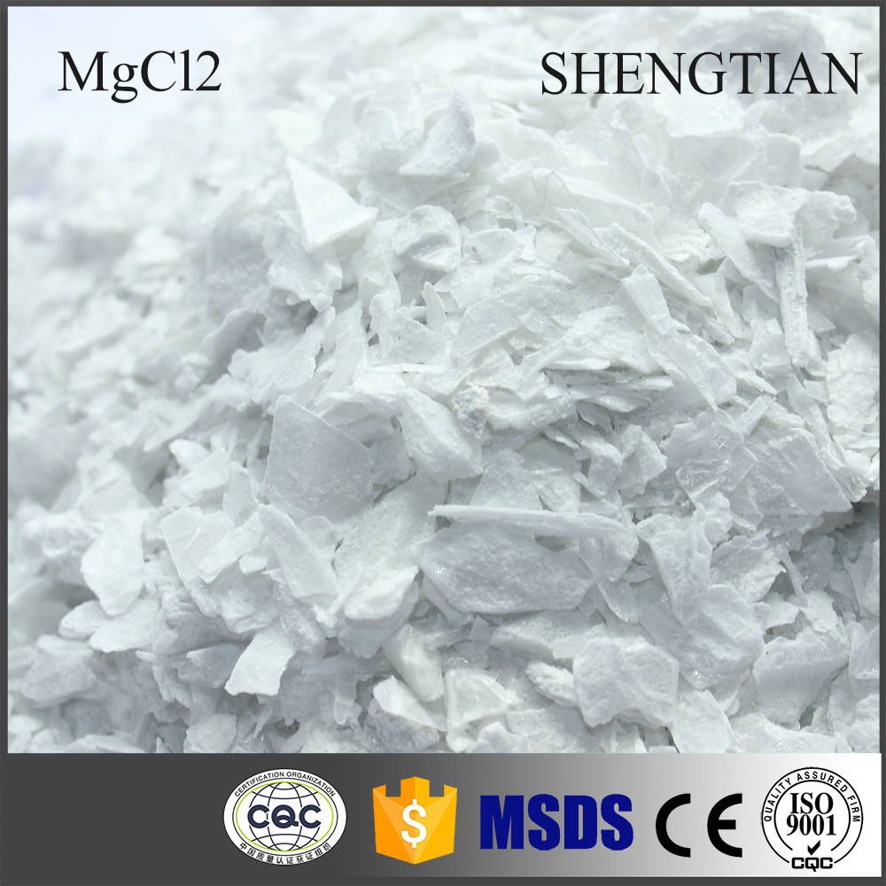 Manufacturer Supply Bulk Anhydrous Magnesium Chloride Flakes