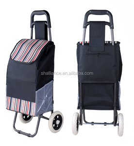 High quality manufacturer polyester 600D shopping trolley bag for walmart