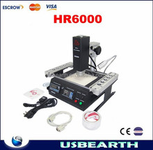 Hot air bga rework station LY HR6000,upgrade from IR6000,auto bga chips reballing machine, good with lead-free soldering rework.