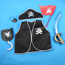 halloween pirate costumes for kids cosplay costume 2013