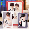 With logo clear 2x3 acrylic picture frame with customized design