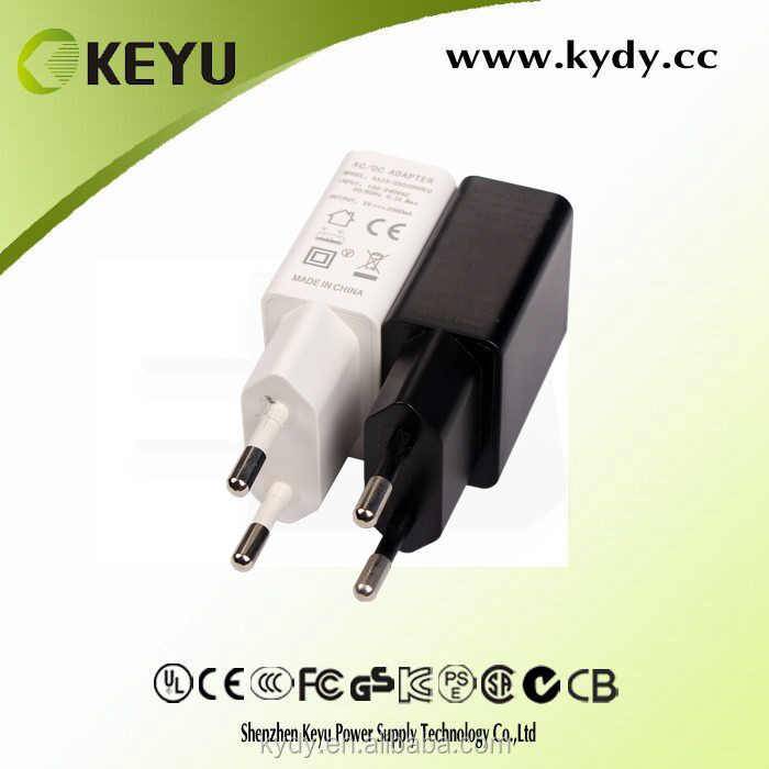 5v 1a tablet pc carregador universal mini usb output power adapter with wall mounted style