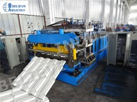 Best Selling Customized Metal Step Tile Roofing Roll Forming Machine