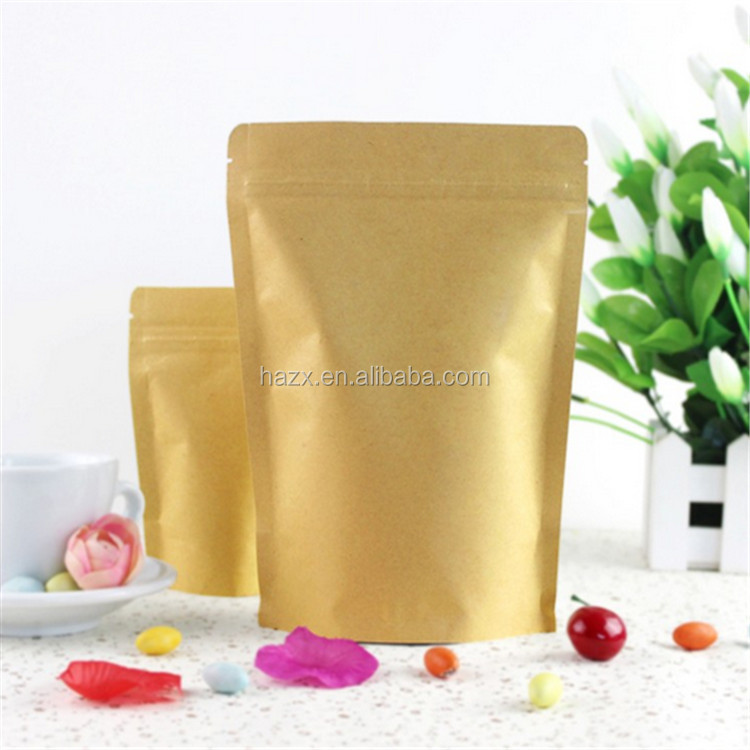 new trending Customized kraft paper food/coffee /snack packaging bag
