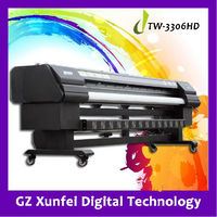 Digital Tarpaulin printer TW-3308HD (with 510/35pl head, high printing speed)