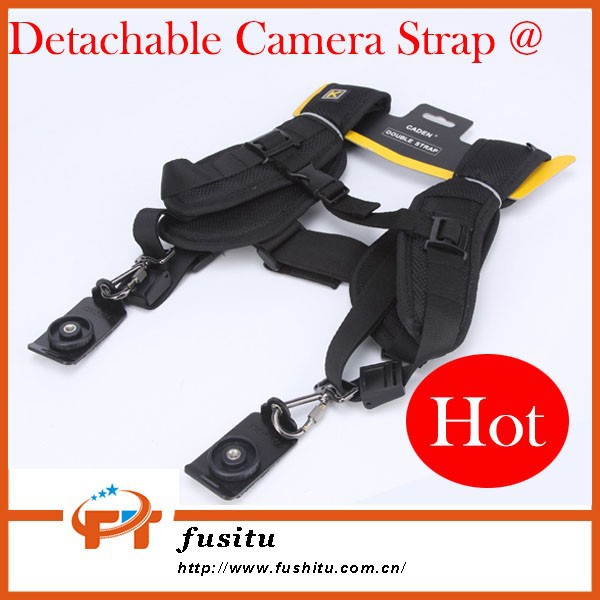 Remove Quick Release Rapid Double Shoulder Strap Detachable Camera Strap For Two Camera
