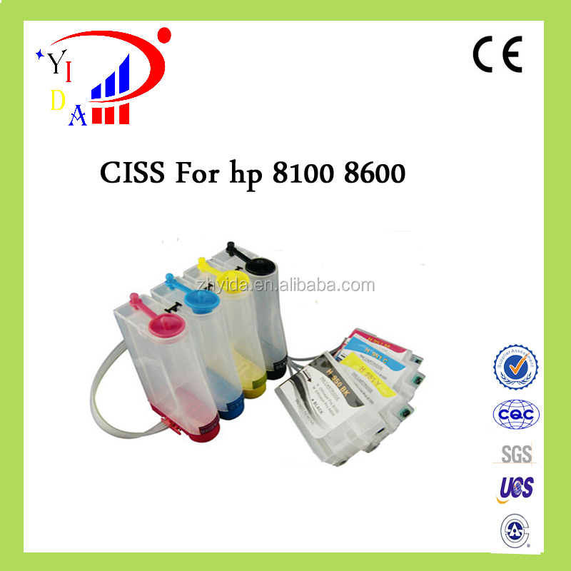New hot ciss for hp 932 933 for hp Officejet 6100 6600 6700