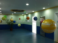 8 planets of the solar system and the moon planet Pluto a total of 11 models inflatable model inflatable