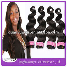 Top grade brazilian human hair weaving brazilian 5a virgin unprocessed hair