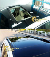 2016 Hot Salable Vehicle Body Wraps Decoration Black Car Styling Stickers Auto Glossy Anti Scratch Roof Skylight Film 1.52*X20M