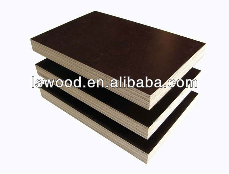 12mm film faced plywood,Eucalyptus/pine/poplar core russia birch film faced plywood