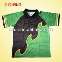 custom raglan sublimation dry fit design your own polo shirt