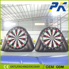 PK Hot Selling Inflatable Dartboard Inflatable Football Games For Family Entertainment 2016