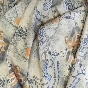 printed garment fusible interlining fabric