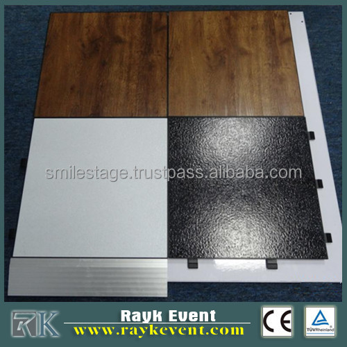 Exhibition PVC Flooring style lightweight dance floor Vinyl Floor
