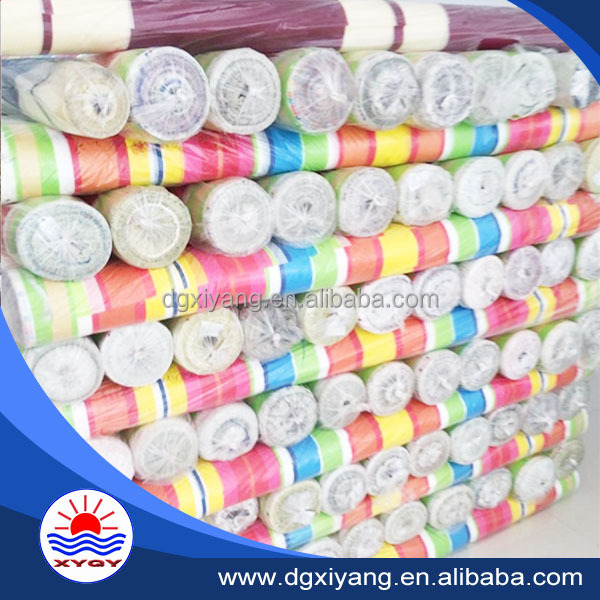 waterproof polyester taffeta fabric stocklot